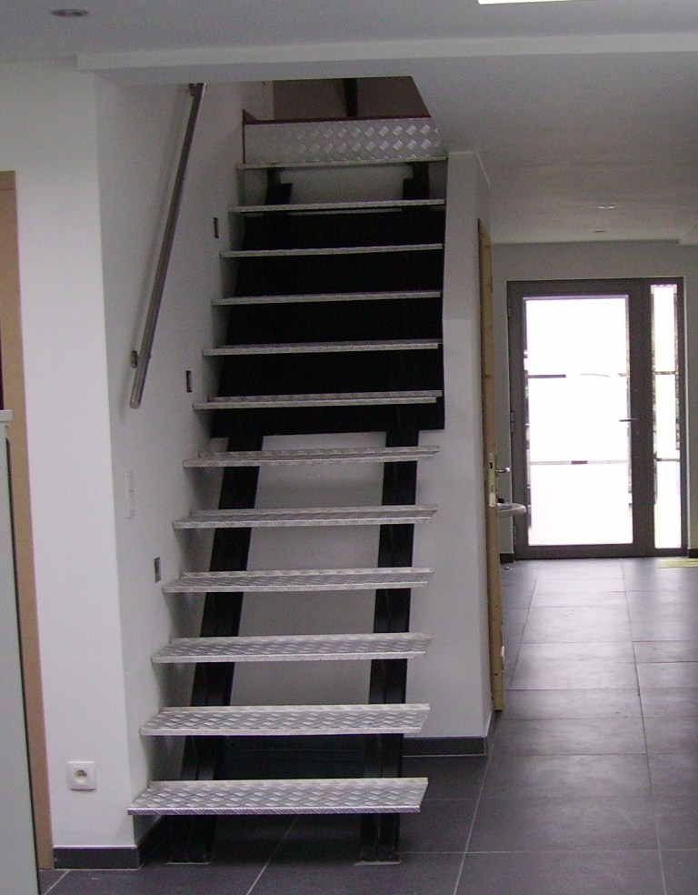Trappen leuningen - Binnen trap ...